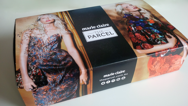 Marie Claire The Parcel Box December 2014